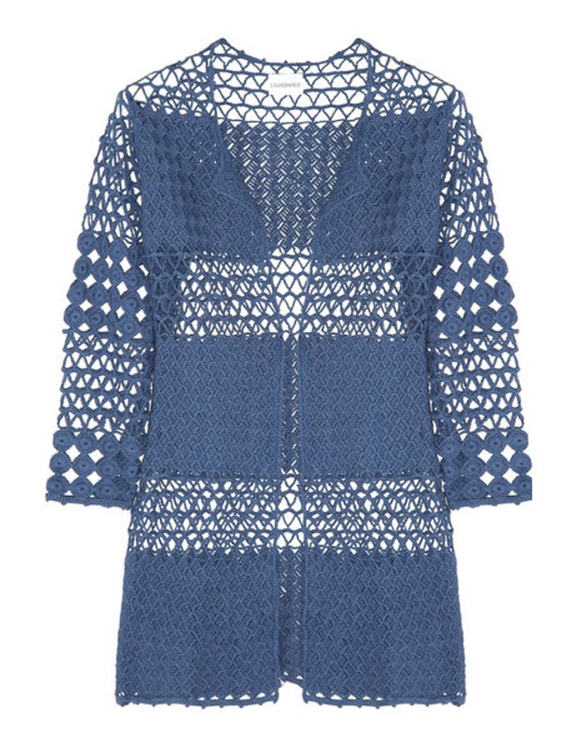 Lisa Maree hook and hope crocheted cotton coverup