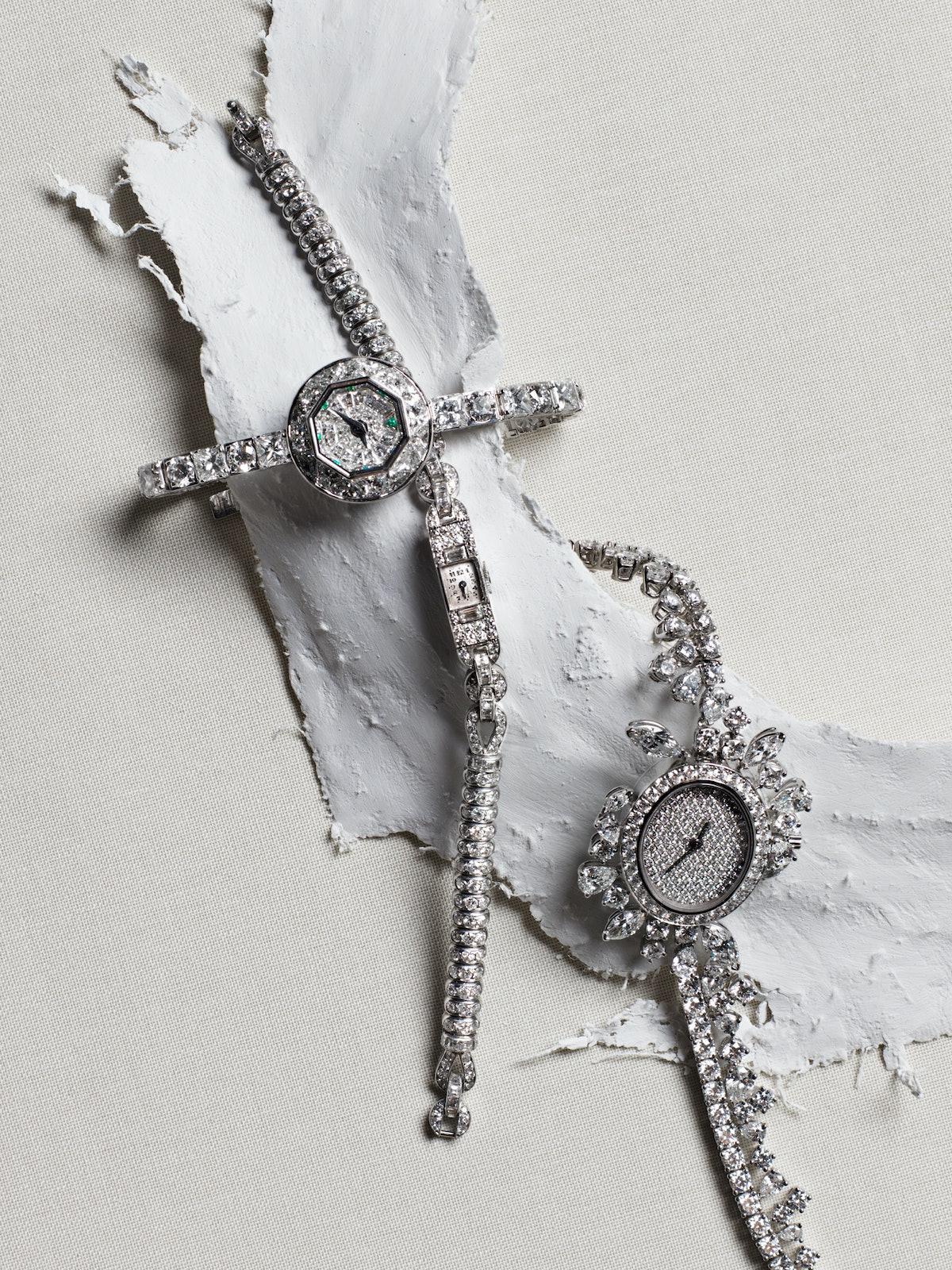 Audemars Piguet from Stephen Russell circa 1920 platinum and diamond watch