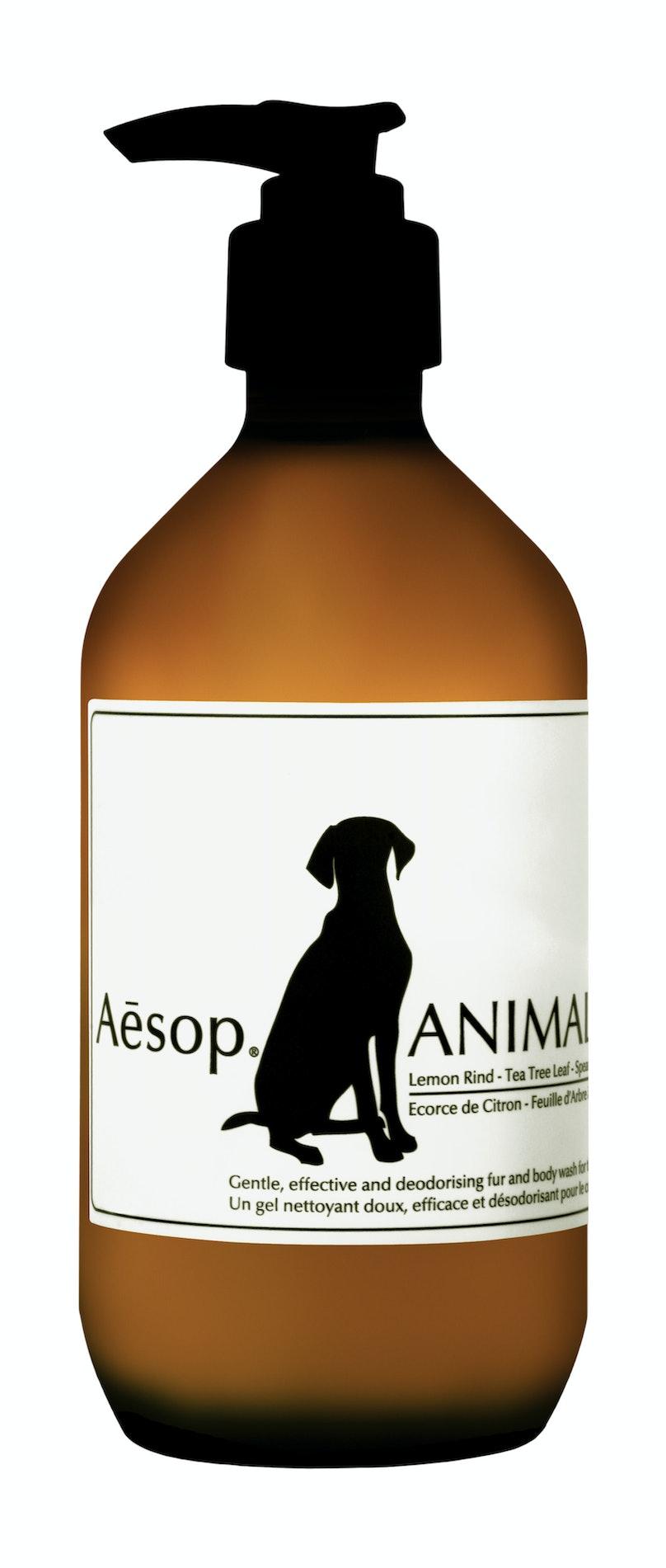 Aesop Animal Fur and Body Wash, $39, barneys.com.