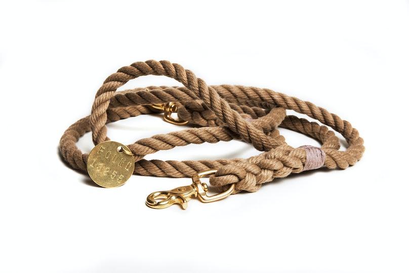 Found My Animal leash, $62, foundmyanimal.com.