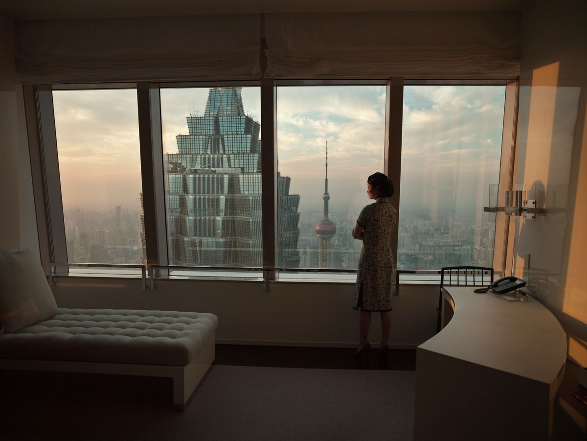 Isaac Julien. Hotel (Ten Thousand Waves). 2010. Courtesy of the artist, Metro Pictures, New York and Victoria Miro Gallery, London.