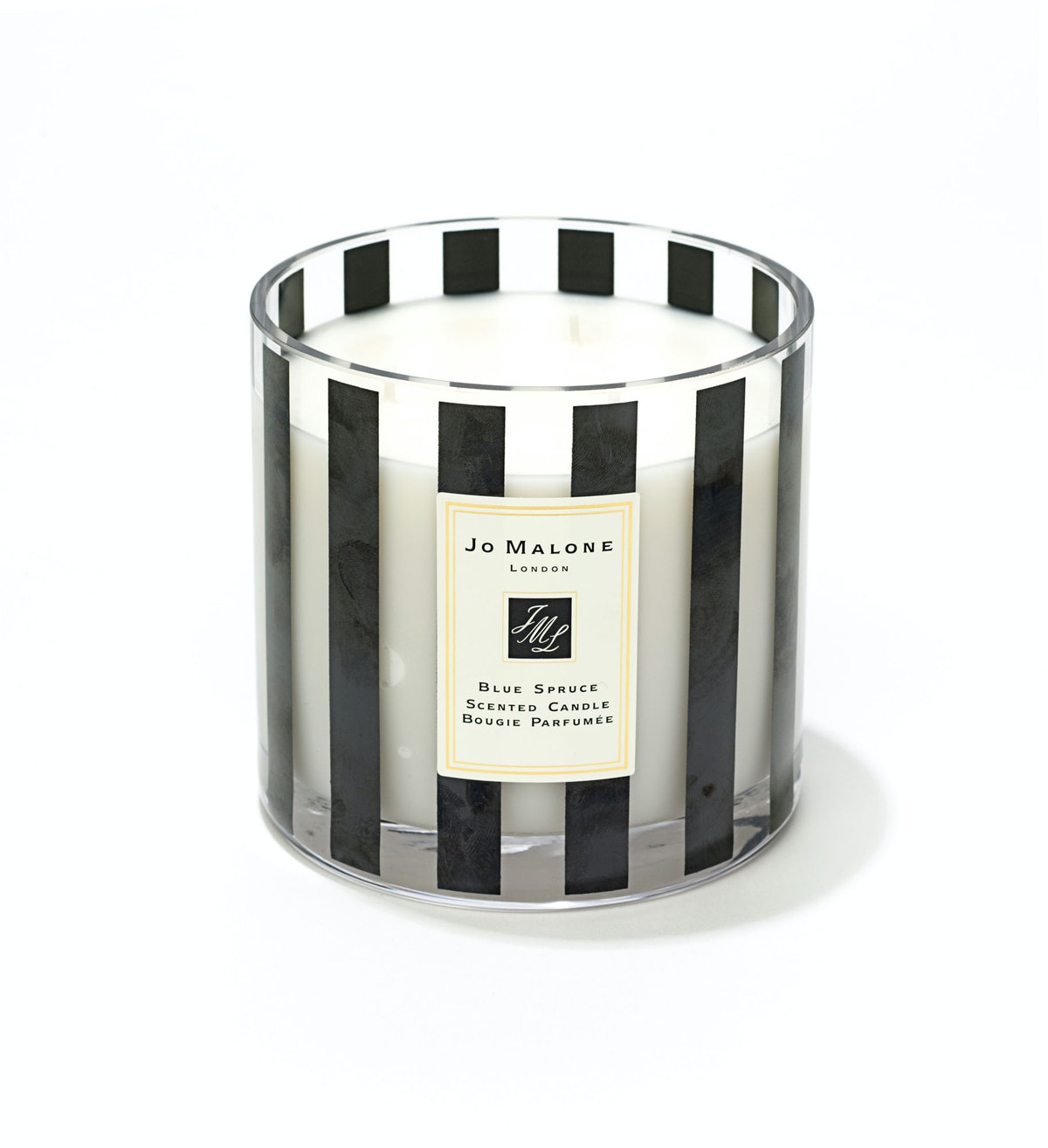Jo Malone Deluxe candle in Blue Spruce, $195, bergdorfgoodman.com.