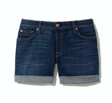 7 For All Mankind shorts, $159, 7forallmankind.com.