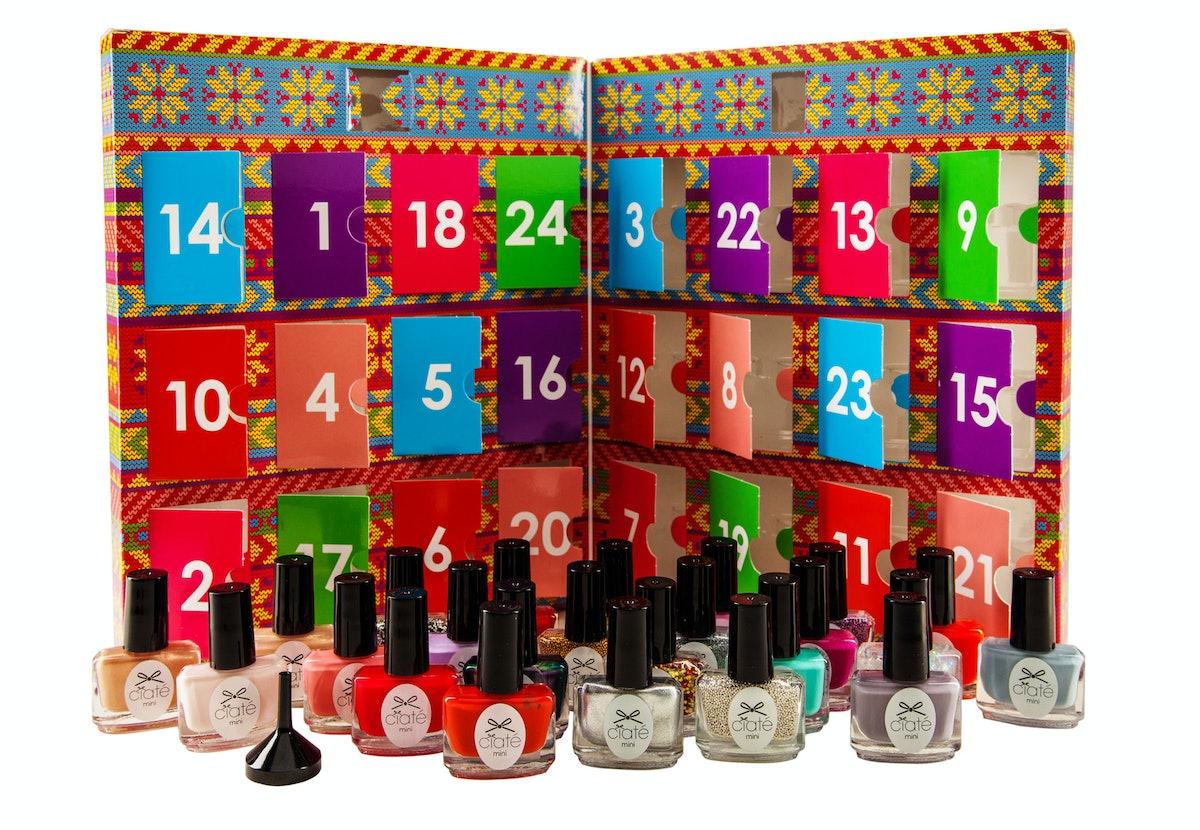 Ciate Mini Mani Month in advent calendar box