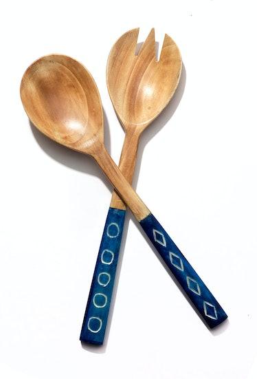 Two's Company serving utensils, $48 for pair, gumtreela.com.