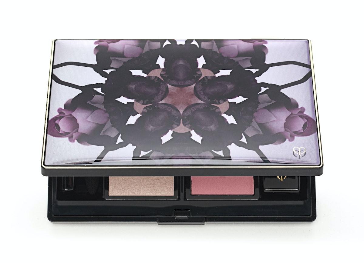Clé de Peau Beauté limited edition Wintry Flower eye and cheek palette