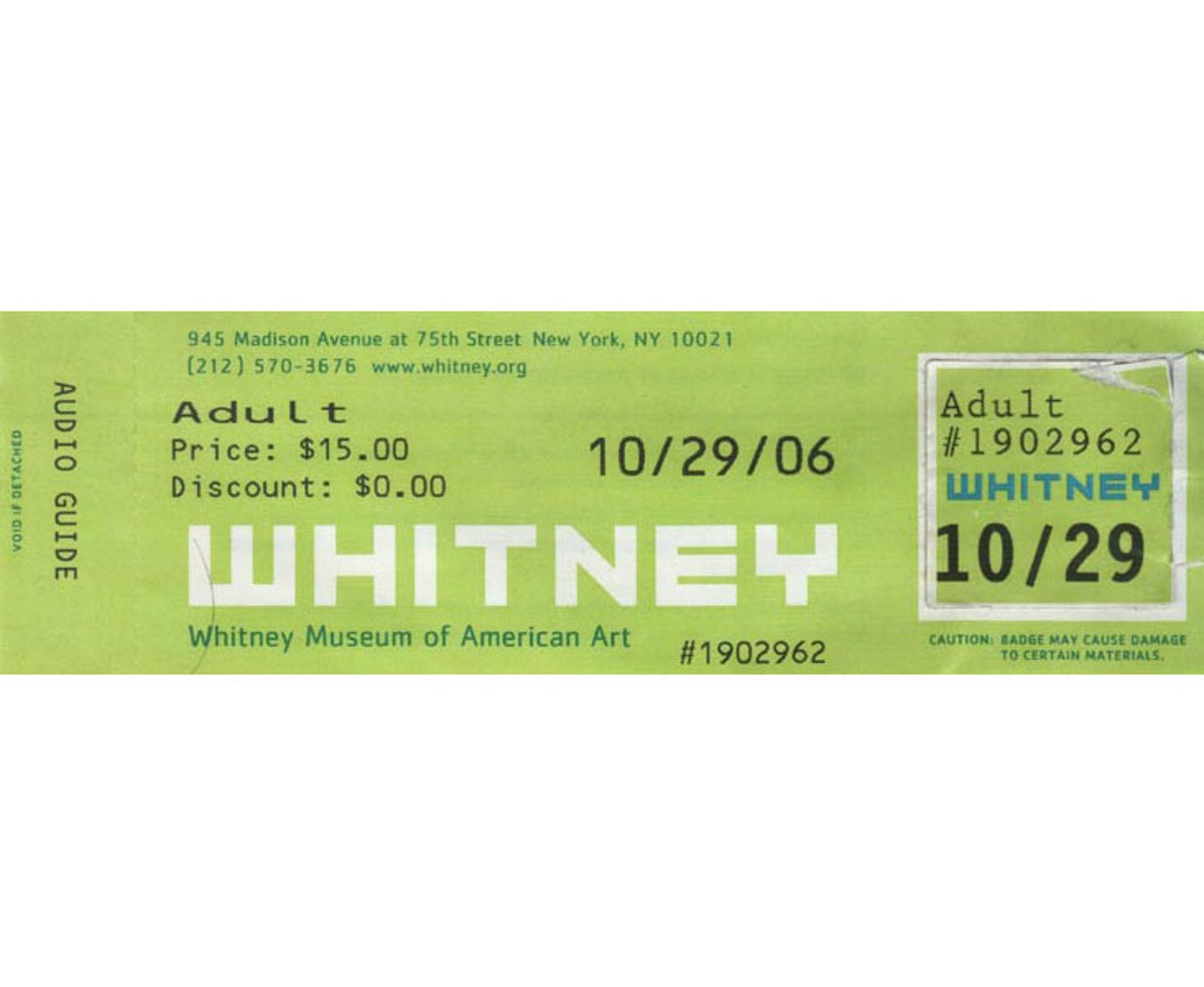 Show Me the Receipts: Whitney Withdrawal