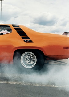 A shot by Craig McDean from the book *I Love Fast Cars*, 1999.