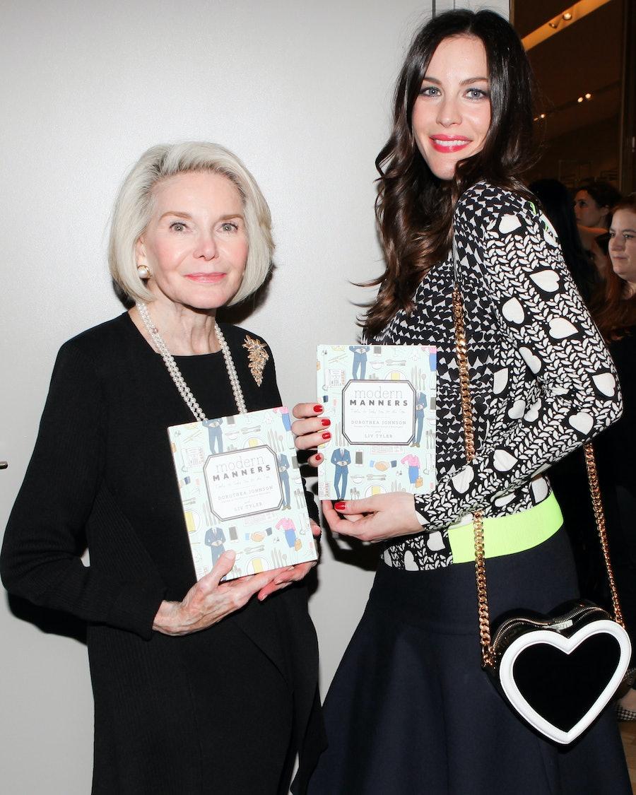 Dorothea Johnson and Liv Tyler. Photo by BFAnyc.com.