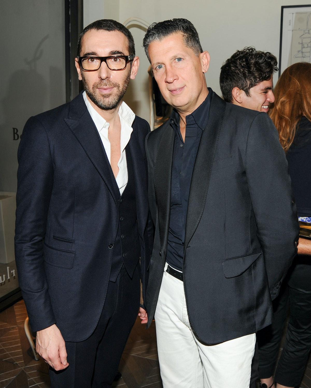 Alessandro Sartori and Stefano Tonchi. Photo by BFAnyc.com.