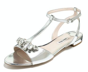 Miu Miu shoes, $695, miumiu.com.