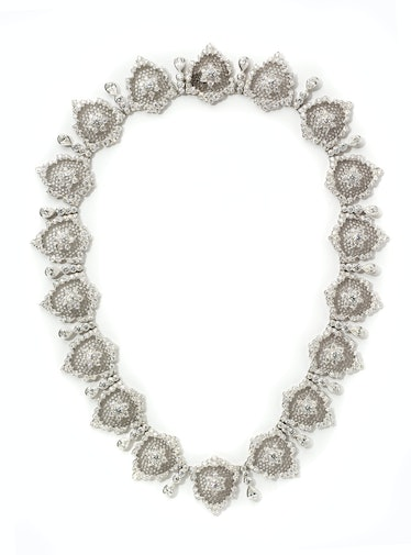 Buccellati gold and diamond necklace, price upon request, by special order, Buccellati, New York.