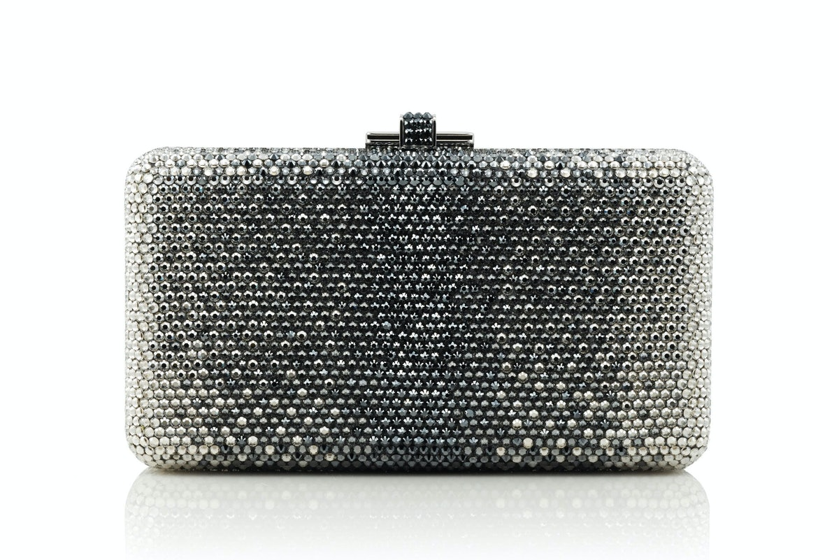 Judith Leiber Couture clutch, $2,695, neimanmarcus.com.