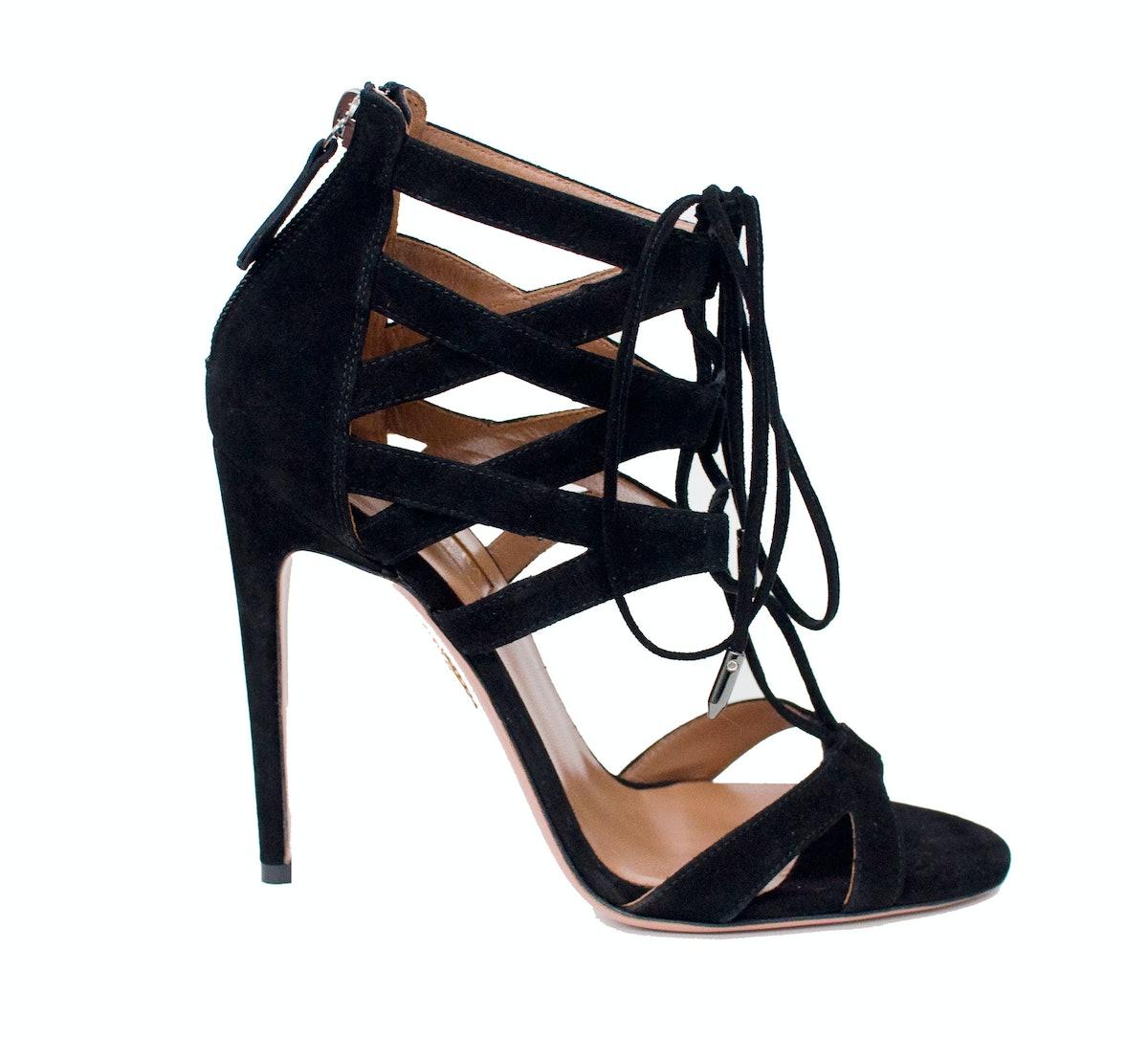 Aquazzura sandals, $745, [saks.com](http://rstyle.me/n/dkspm3w3n).