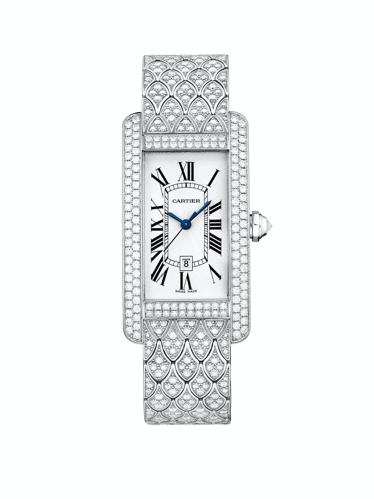 Cartier gold and diamond watch, $130,000, cartier.us.