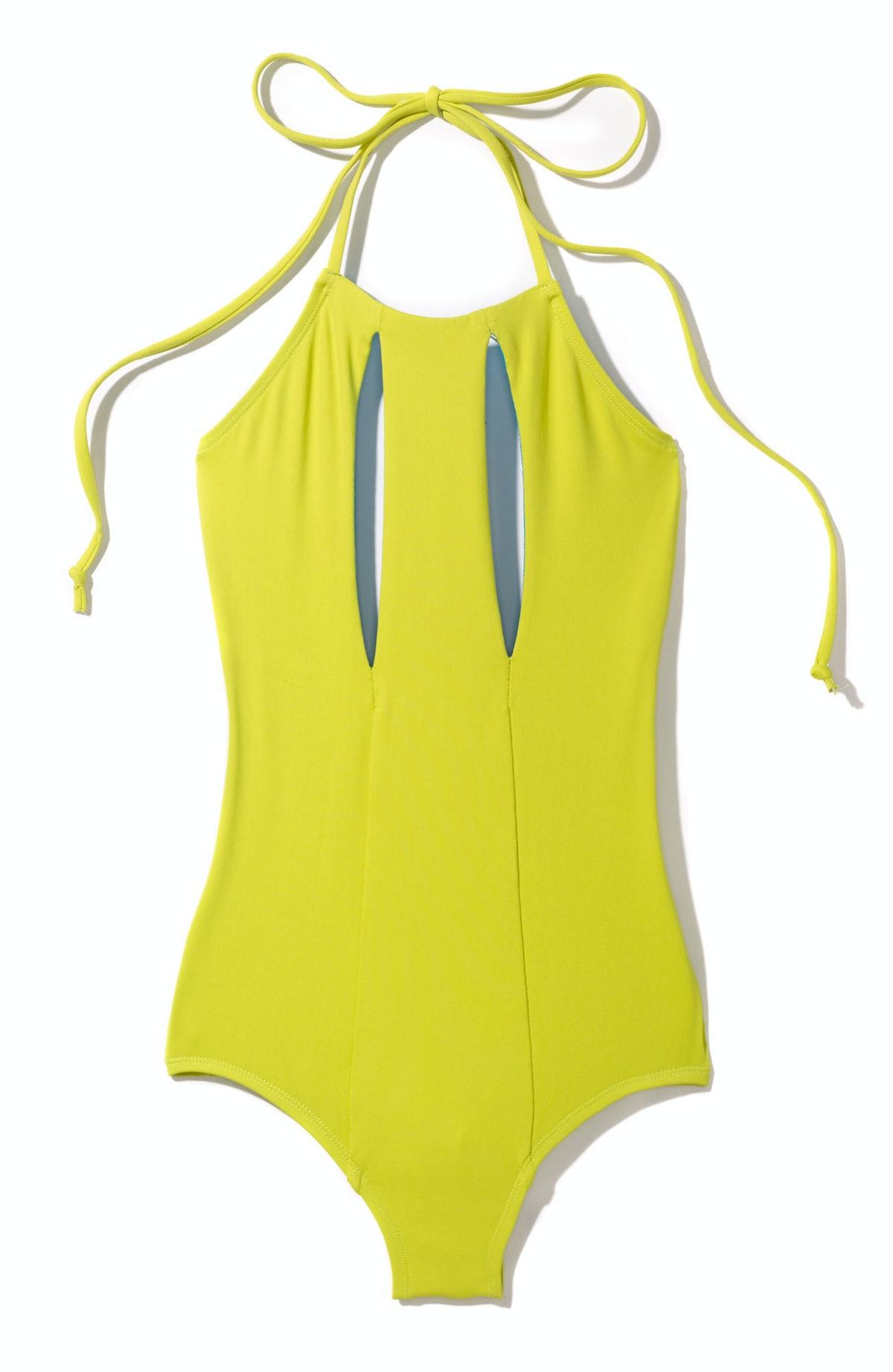 Cushnie et Ochs swimsuit, $375, Intermix, 855.446.4943.