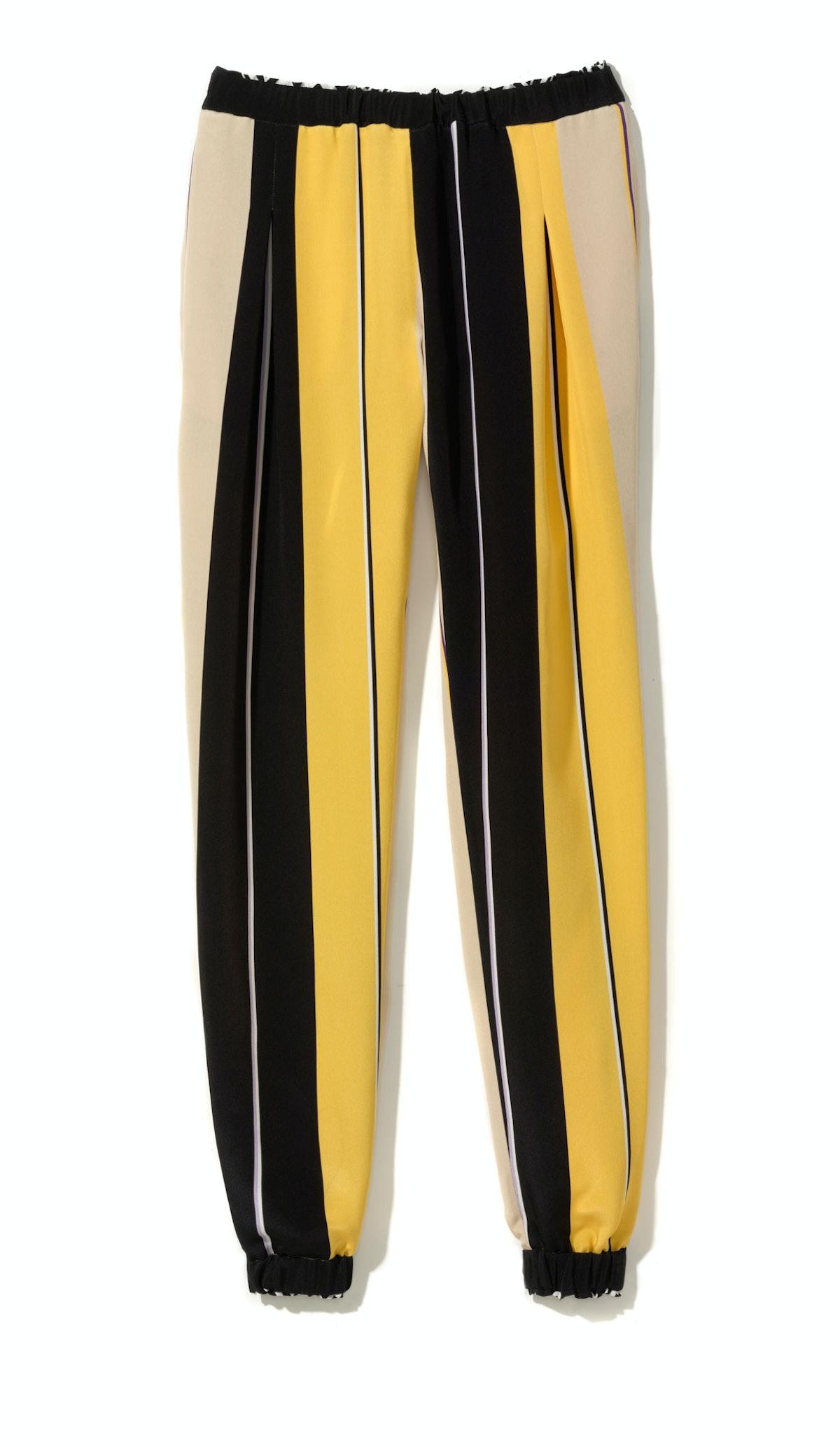 Fendi pants, $1,600, Stanley Korshak, Dallas.