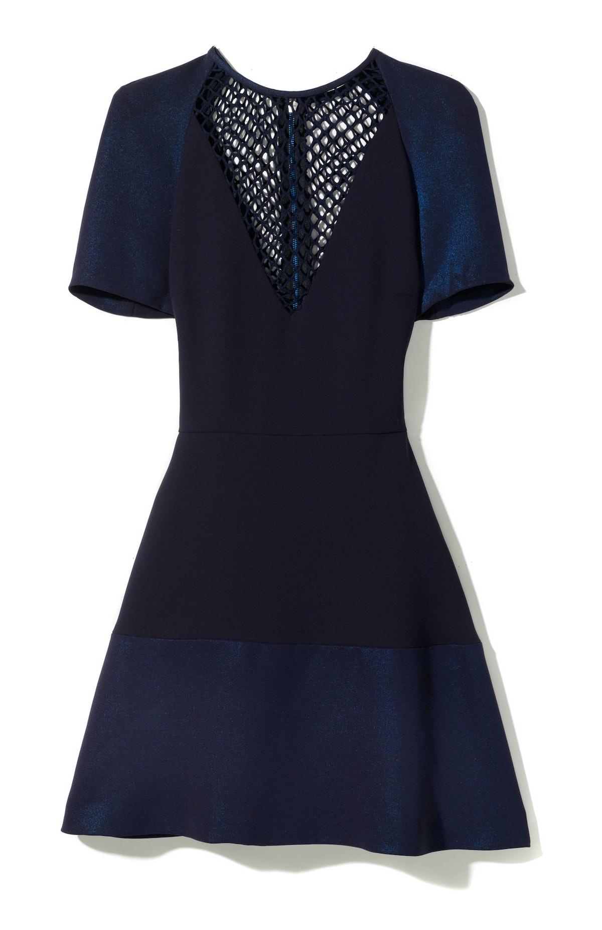 Sandro dress, $340, [sandro-paris.com](http://us.sandro-paris.com).