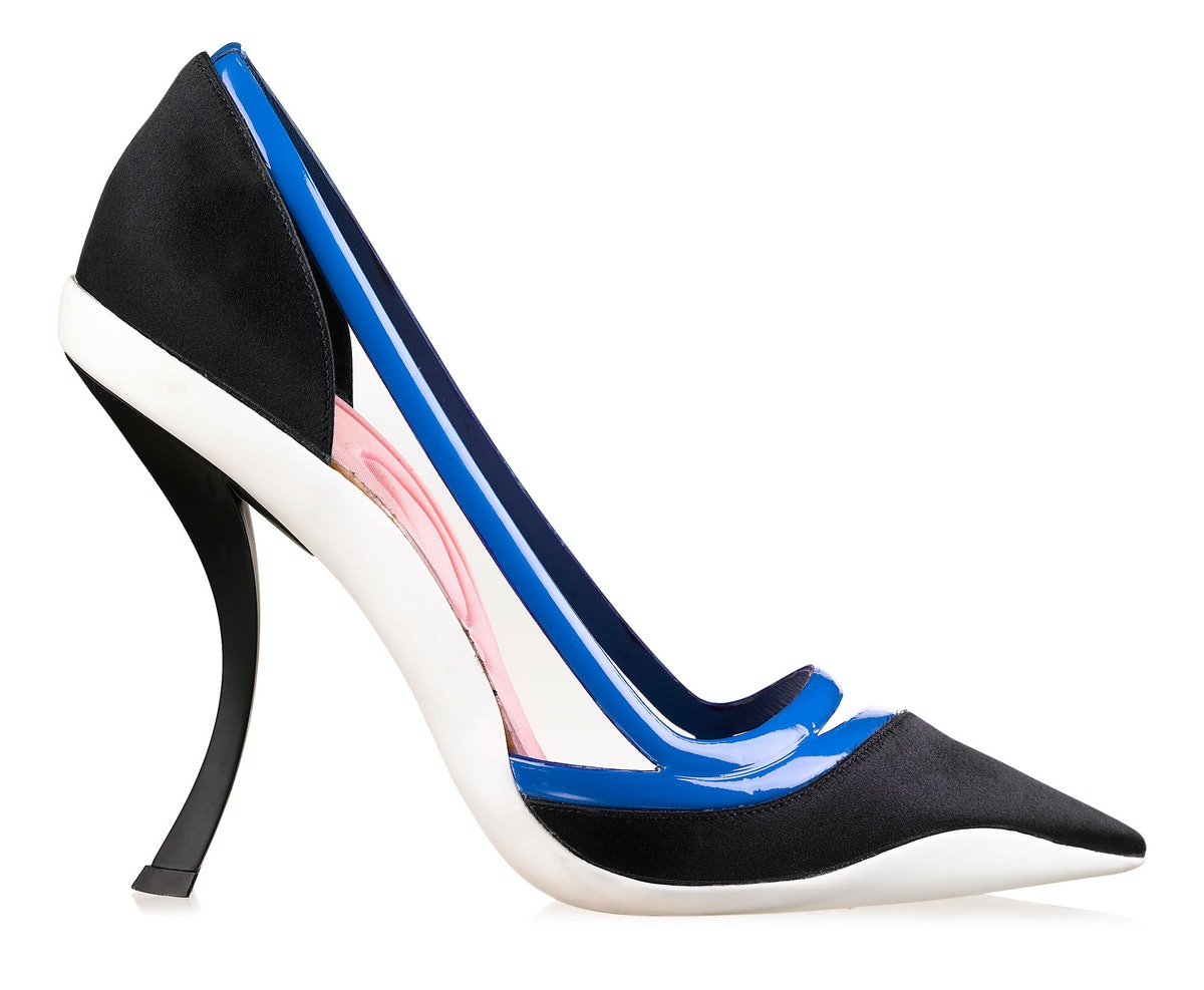 Dior pumps, $920, 800.929.DIOR.
