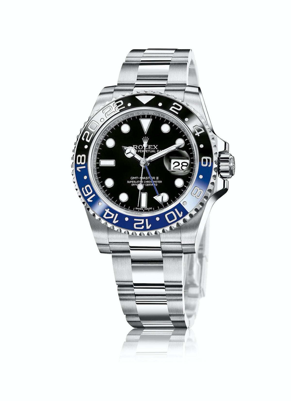 Rolex stainless steel watch, $8,950, rolex.com.
