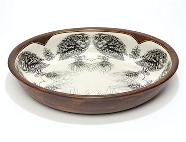 Laura Zindel Design bowl, $330, laurazindel.com.