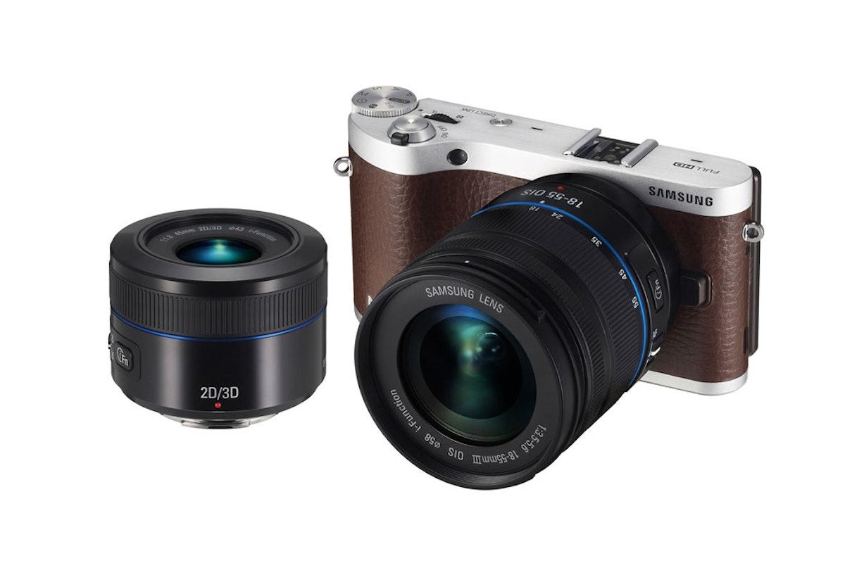Samsung Electronics NX300 camera, starting at $750, samsung.com.