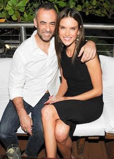 Francisco Costa and Alessandra Ambrosio. Photo by BFAnyc.com.