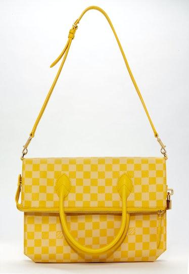 Louis Vuitton bag, $2,360, louisvuitton.com.