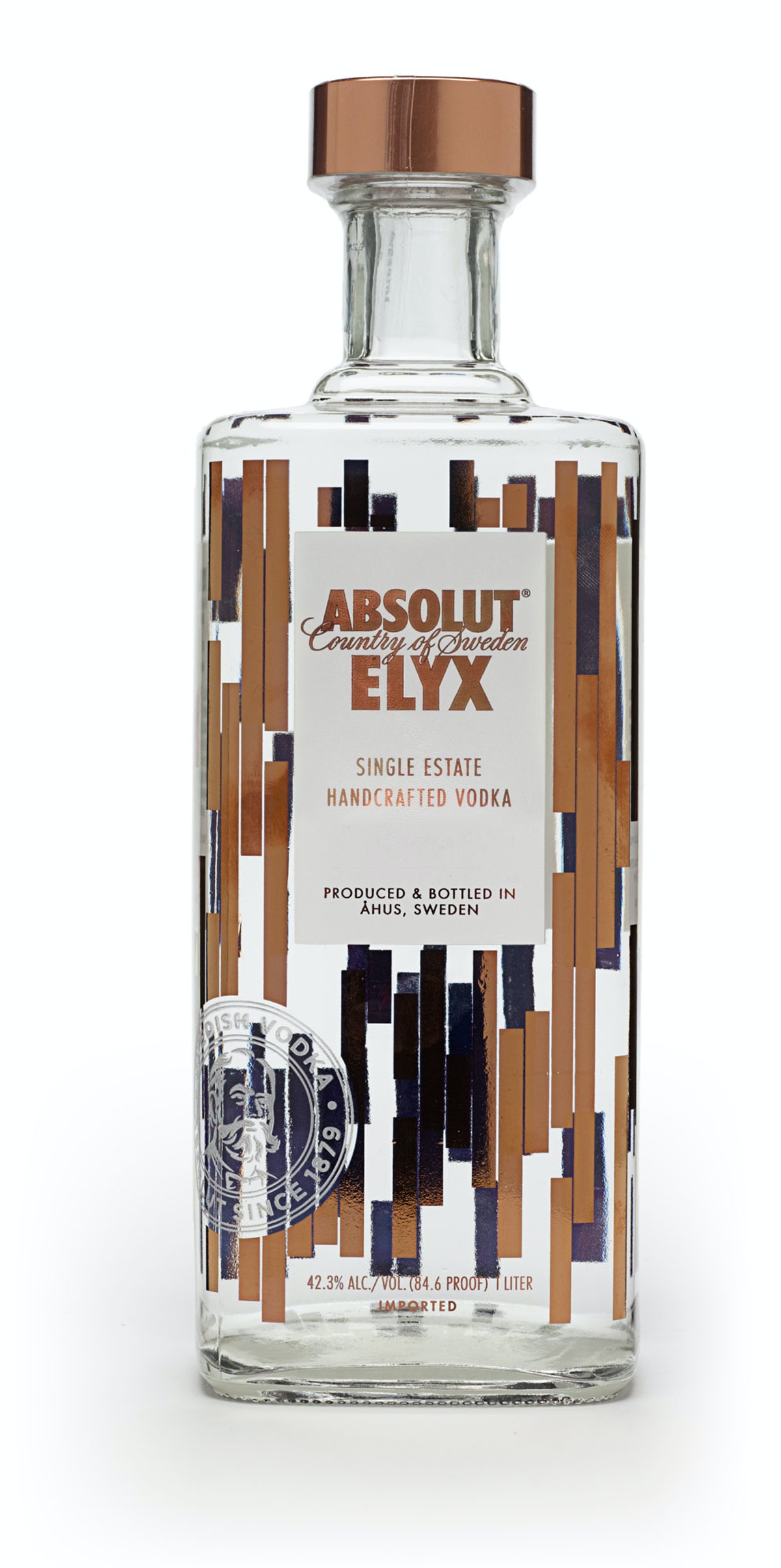 Absolut Spirits Co. Elyx vodka, $50, astorwines.com.
