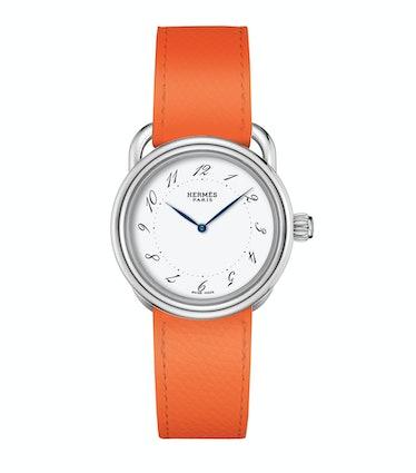 Hermès steel watch, $2,650, hermes.com.