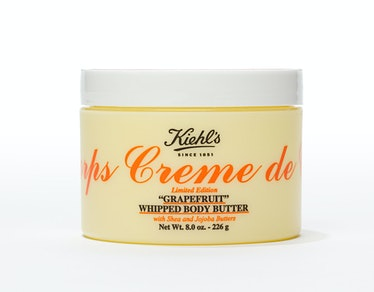 Kiehl's Creme de Corps Soy Milk & Honey Whipped Body Butter in Grapefruit (limited edition), $38, [k...