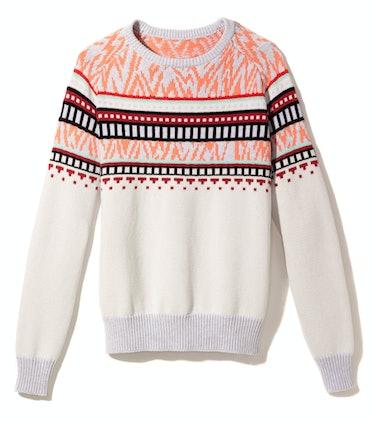 Proenza Schouler sweater, $650, Proenza Schouler, New York, 212.585.3200.