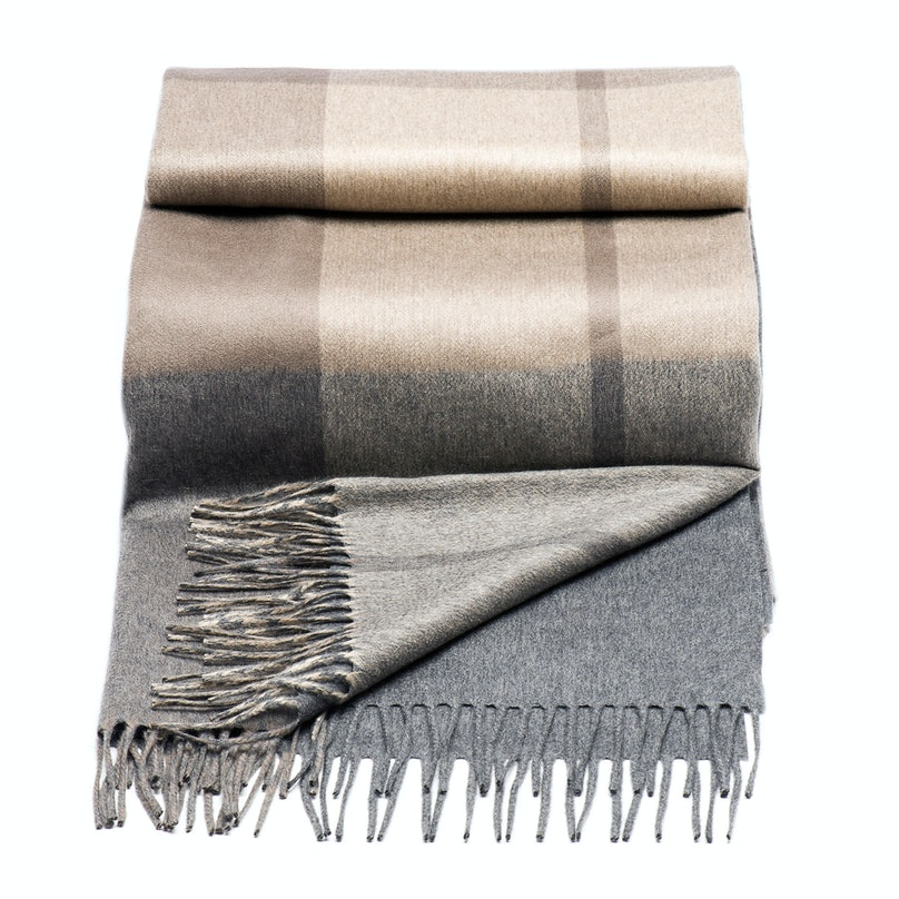 Brunello Cucinelli blanket, $2,890, [neimanmarcus.com](http://rstyle.me/~18Luc).