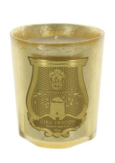 Cire Trudon Melchior Candle, $98, [ciretrudon.com](http://www.ciretrudon.com).