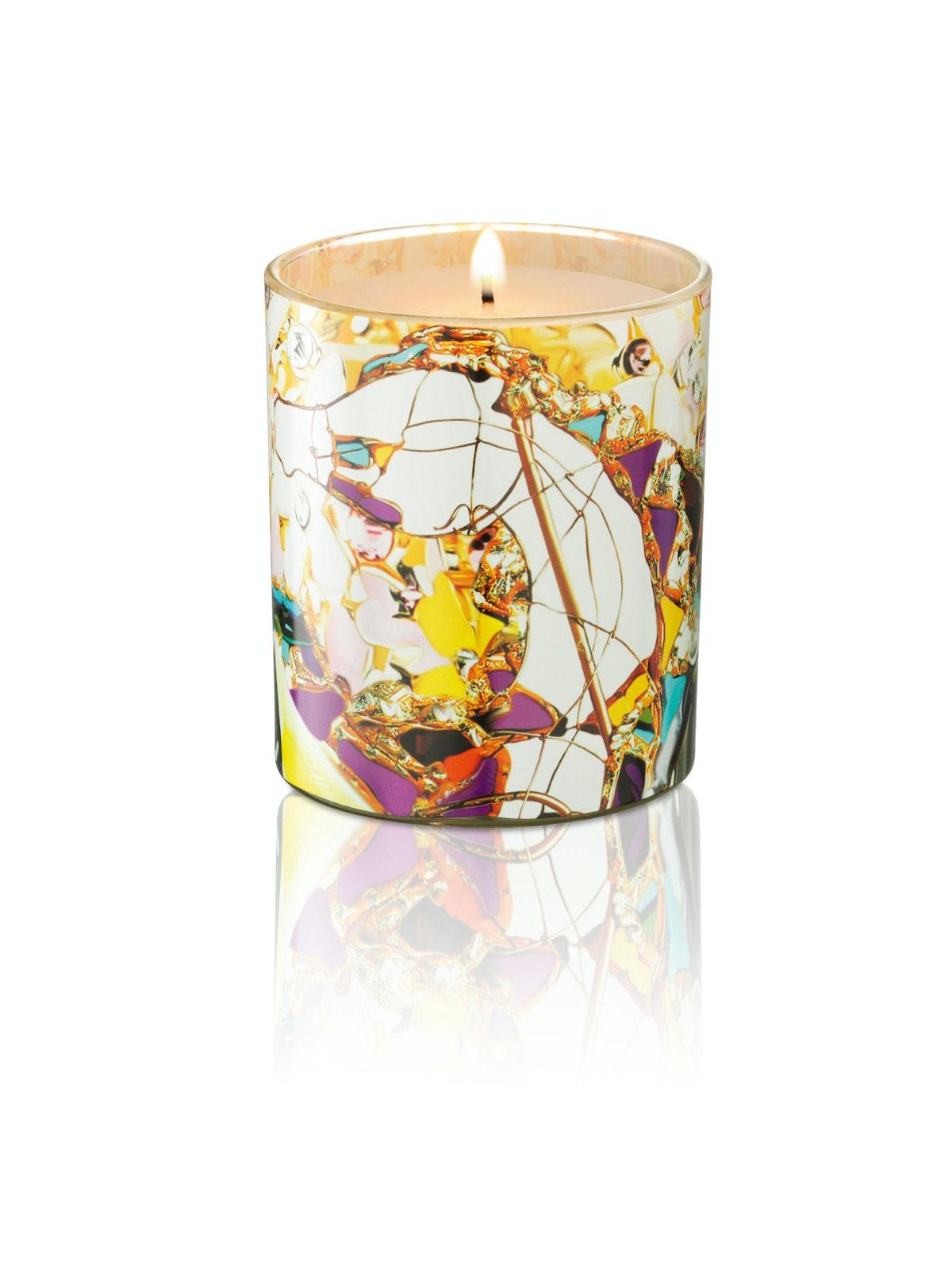 Mary Katrantzou Rodial Candle, $44, [spacenk.com](http://www.spacenk.com).