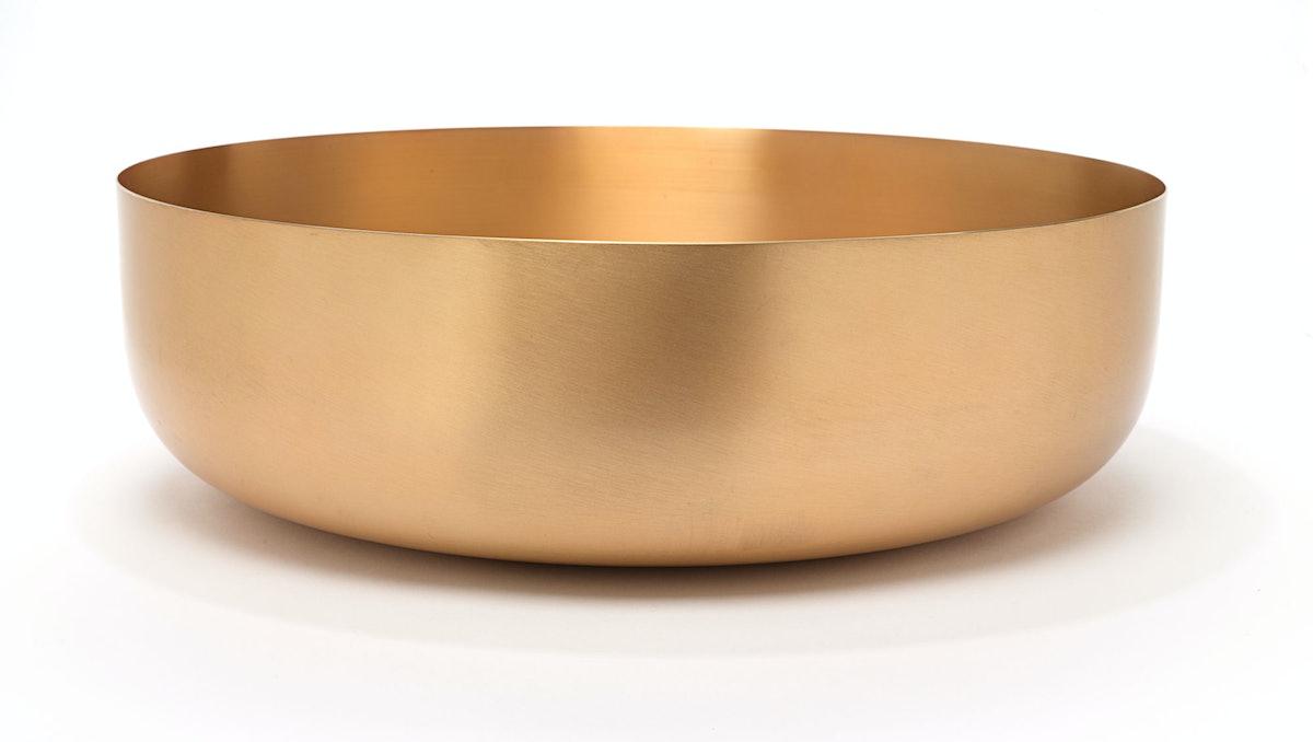 Calvin Klein Collection bowl, $756, calvinklein.com.