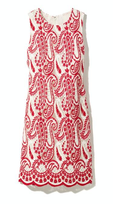 Giambattista Valli dress, $2,755, saks.com.