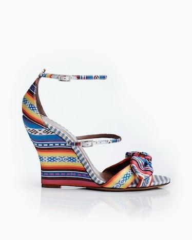 Tabitha Simmons sandals, $875, tabithasimmons.com.