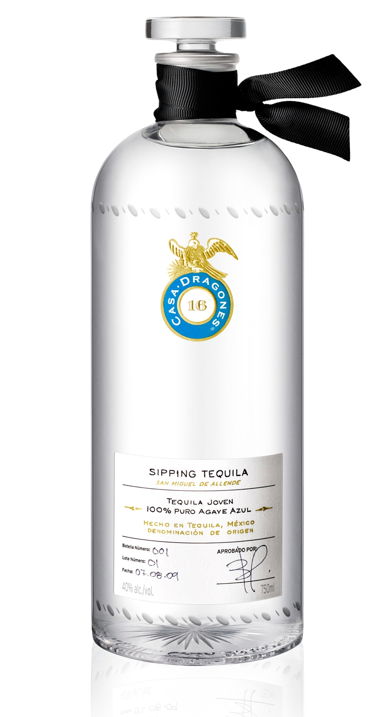 Casa Dragones limited edition tequila, $275, casa-dragones.com.