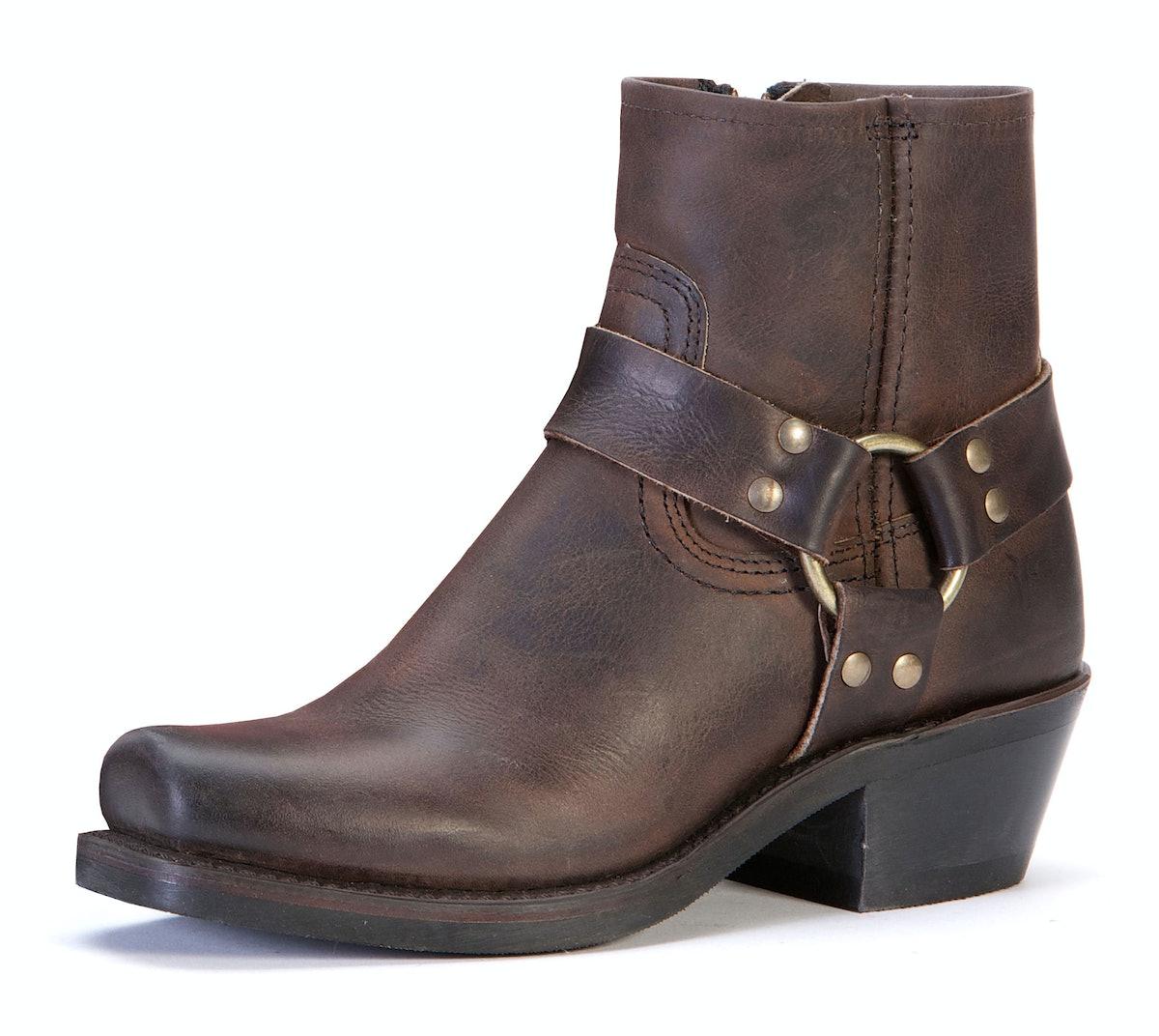 The Frye Company boots, $248, [thefryecompany.com](http://www.thefryecompany.com/womens-boots/bestsellers/77455/harness-8r).