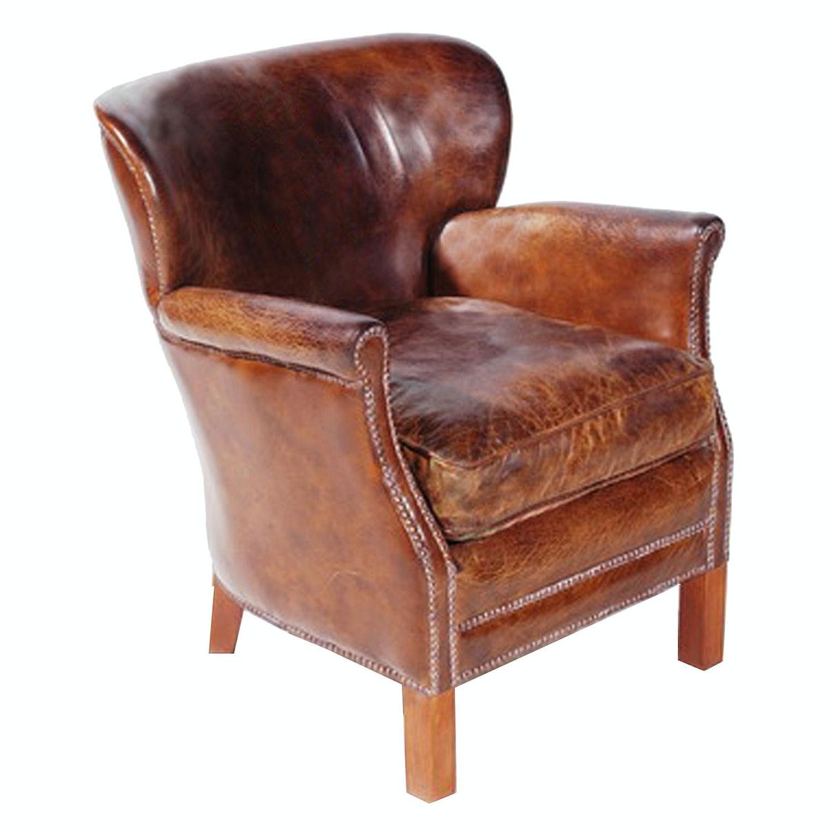 Timothy Oulton armchair, $1,295, Timothy Oulton at ABC Carpet & Home, New York, 646.602.3273.