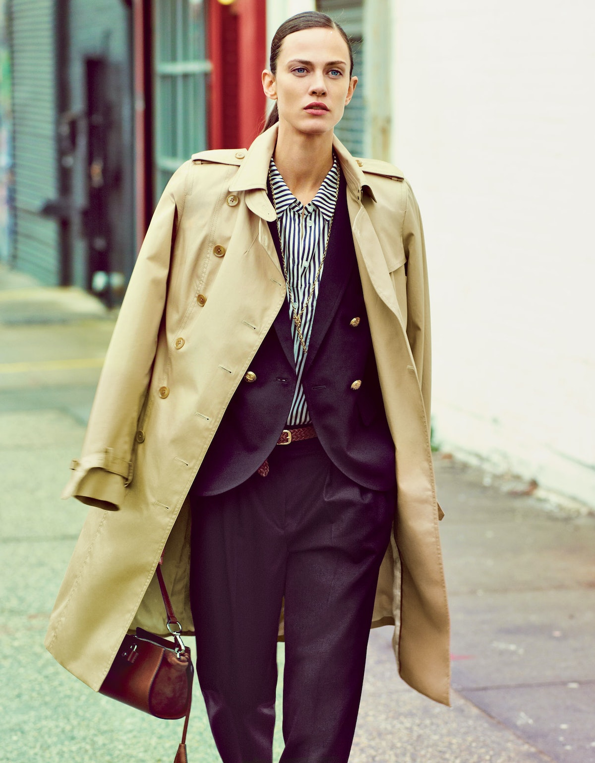 """A matched set in """"[Fast and Chic: A Guy Thing](http://www.wmagazine.com/fashion/2013/04/menswear-inspired-fast-and-chic-ss/photos),"""" shot by Emma Summerton and styled by Sarah Richardson, April 2013."""