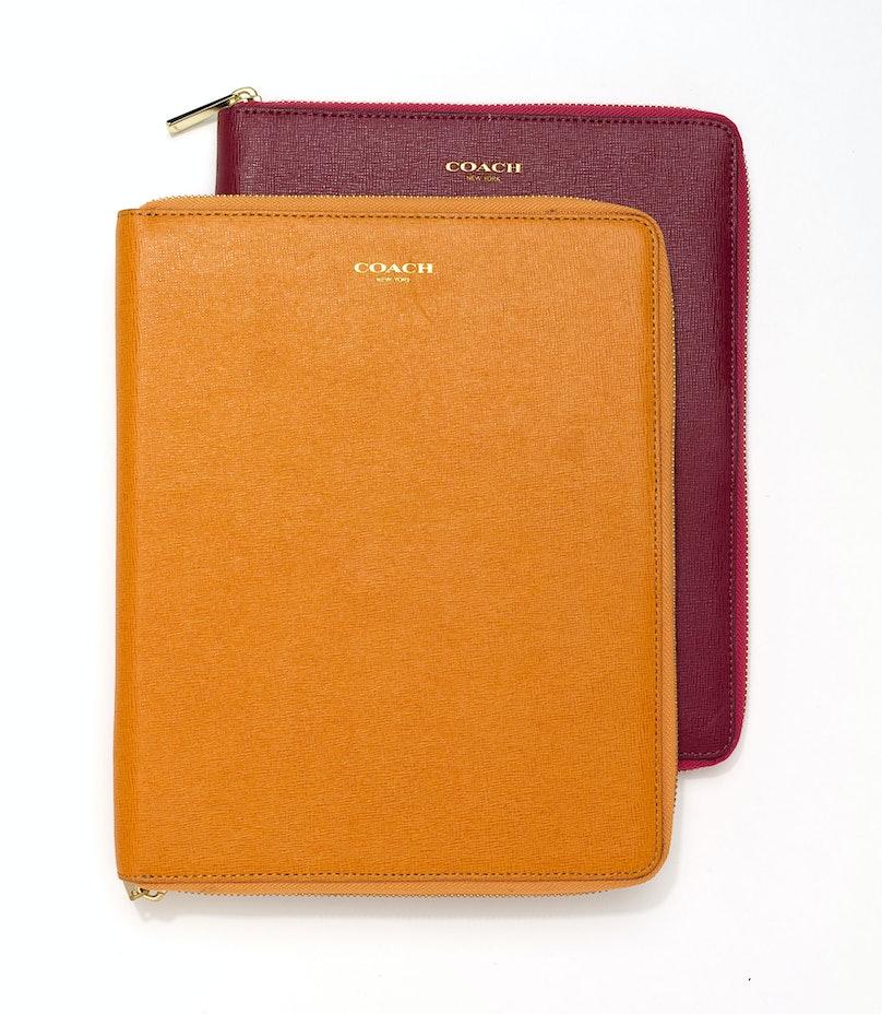 Coach iPad cases, $198 each, [coach.com](http://rstyle.me/n/dssm23w3n).