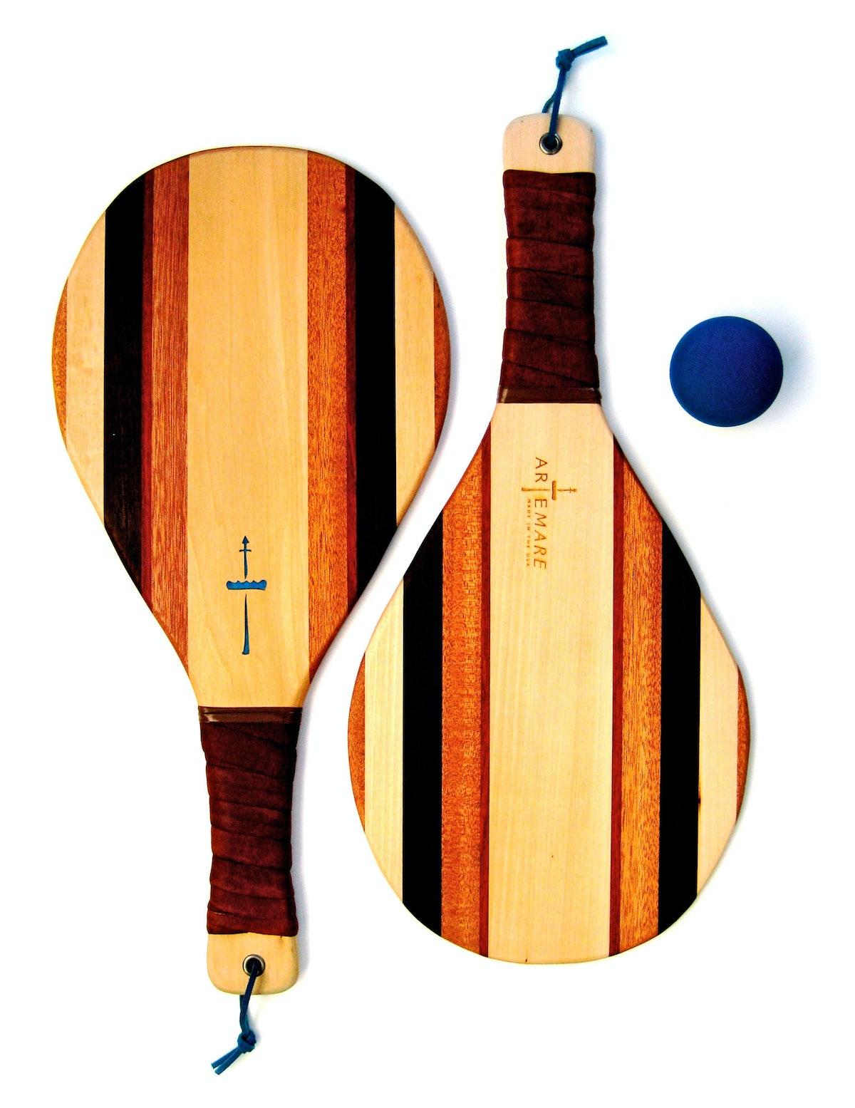 Artemare beach racket set, $196, bespokeglobal.com.