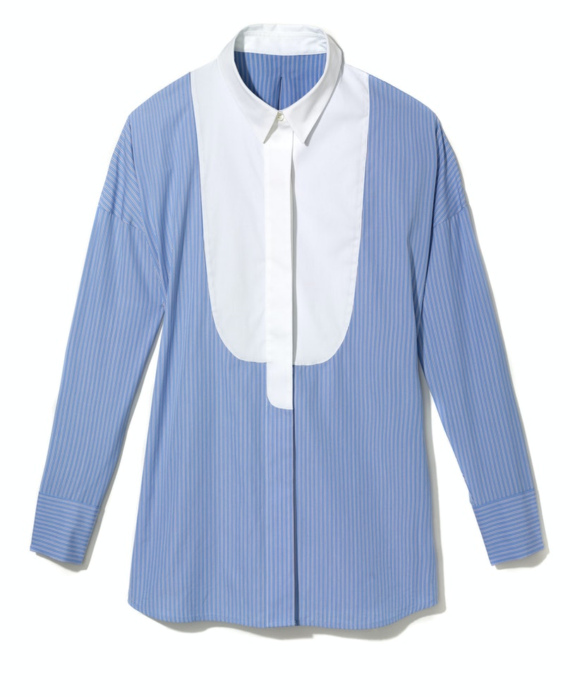 Theory shirt, $255, Theory, New York, 212.524.6790.