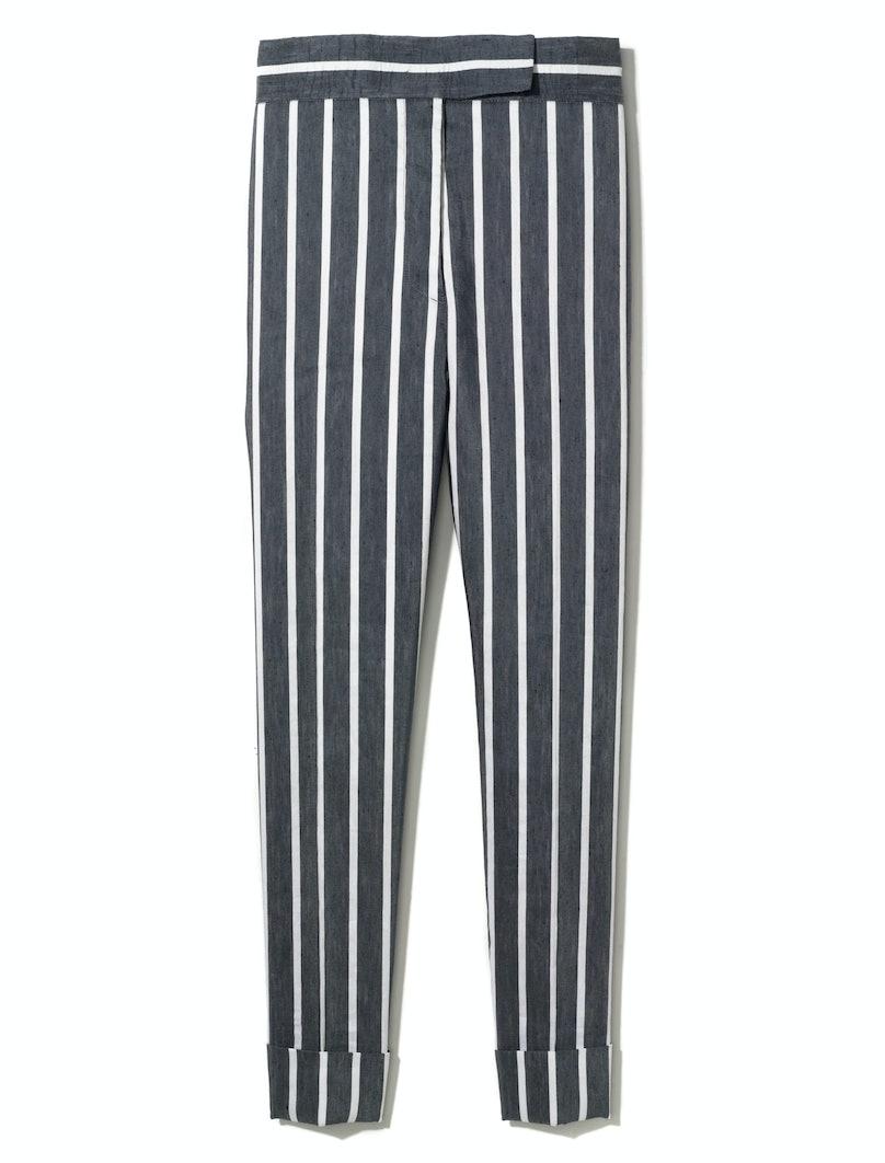 Thom Browne New York pants, $950, Barneys New York, New York, 212.826.8900.