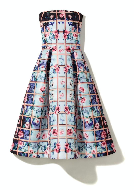 Mary Katrantzou dress, $5,210, Neiman Marcus, 888.888.4757.