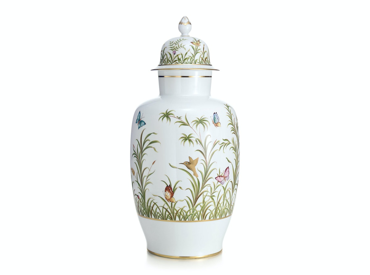 Tiffany & Co. ginger jar, $6,000, [tiffany.com](http://www.tiffany.com/Shopping/Item.aspx?sku=14811699).