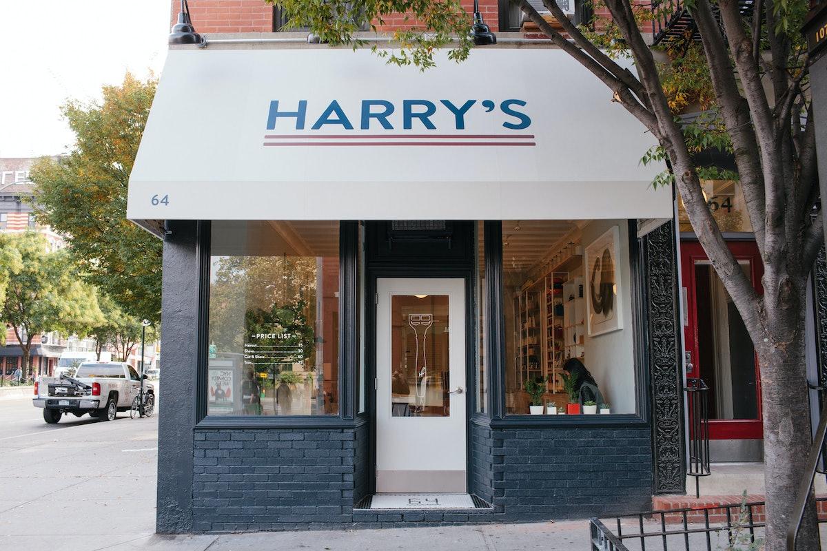 The exterior of the SoHo shop. Courtesy of Harry's Corner Shop.