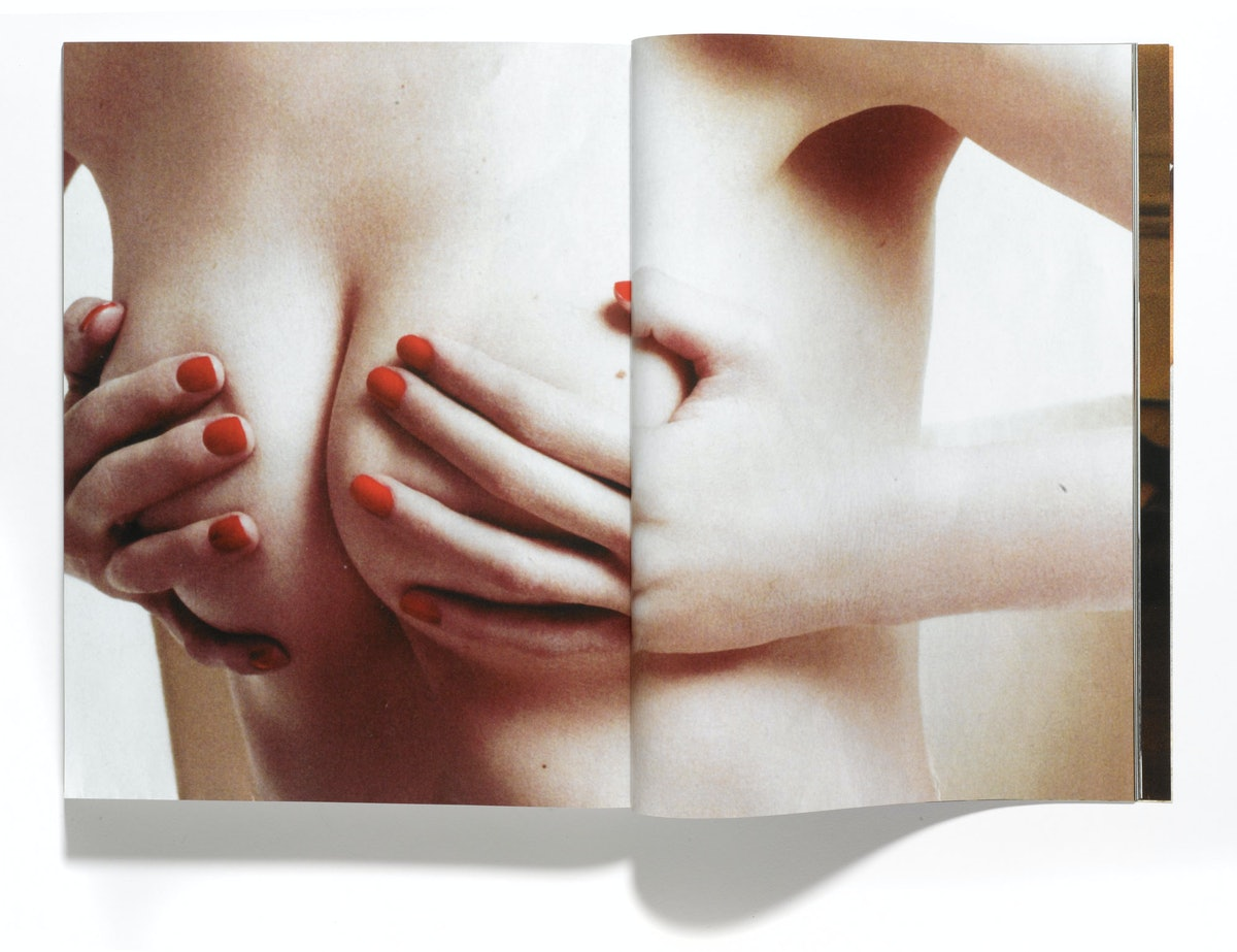 Paul Elliman's *Untitled (September Issue)*, 2013.